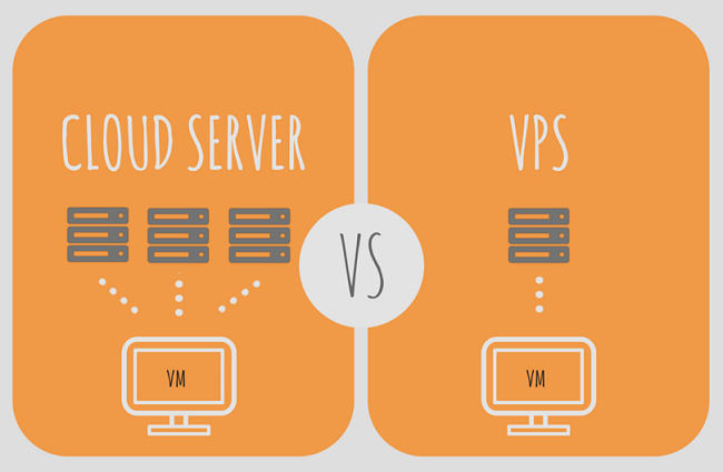 So sánh VPS và Cloud server