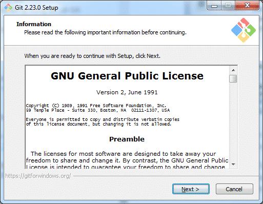 Cài đặt Git bash trên Windows 3