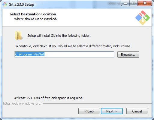 Cài đặt Git bash trên Windows 4