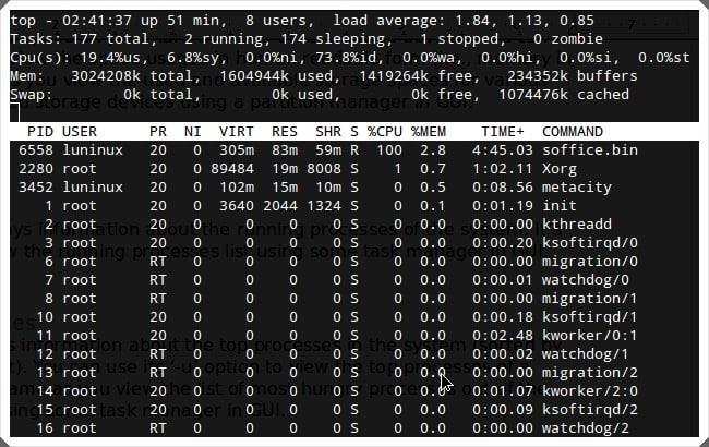 Các lệnh cơ bản trong Linux 1