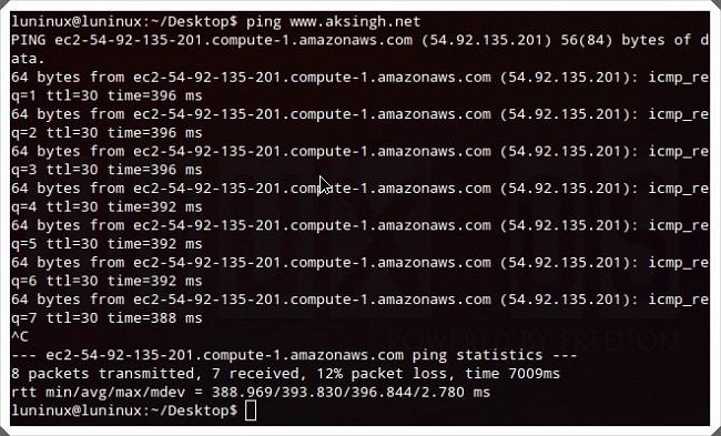 Các lệnh cơ bản trong Linux 8