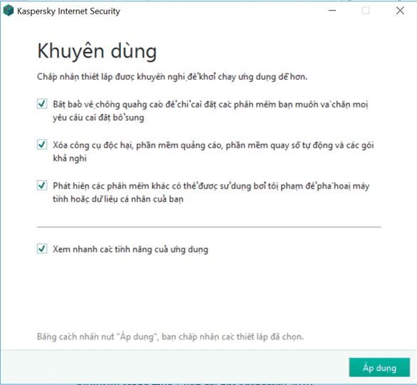 cách cài đặt phần mềm diệt virus kaspersky 3