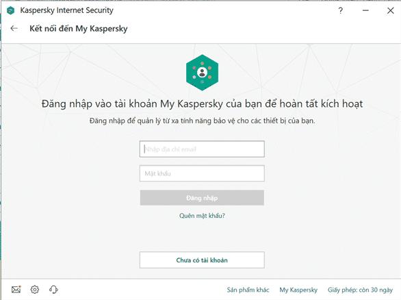 cách cài đặt phần mềm diệt virus kaspersky 7