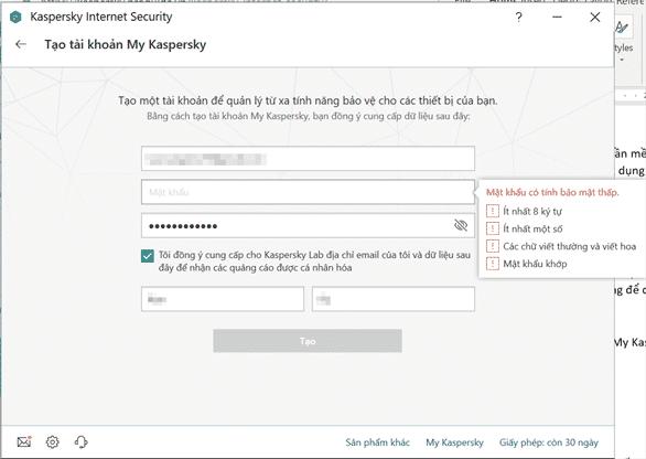 cách cài đặt phần mềm diệt virus kaspersky 8