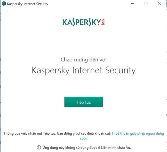 cách cài đặt phần mềm diệt virus kaspersky