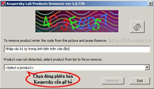 cách gỡ bỏ phần mềm diệt virus Kaspersky 2