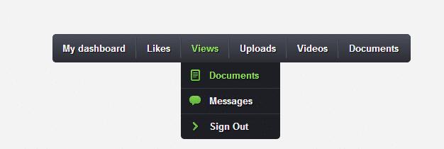 Cách tạo menu ngang trong wordpress