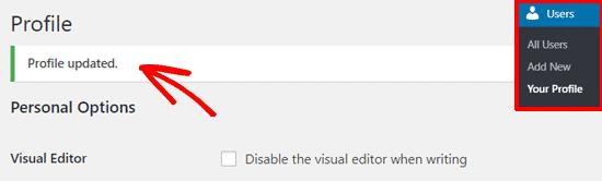 Cách thay đổi mật khẩu WordPress 4