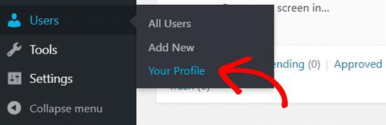 Cách thay đổi mật khẩu WordPress