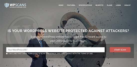 ScanWP là công cụ quét mã độc website khá phổ biến
