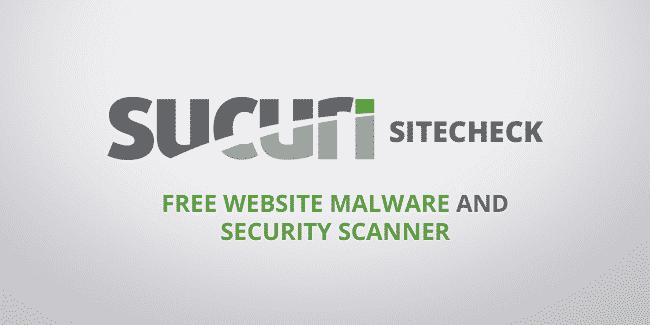 Sucuri Site Check là một trong những công cụ quét mã độc website hiệu quả