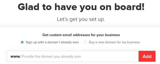 Đăng ký Email tên miền riêng miễn phí với Zoho Mail
