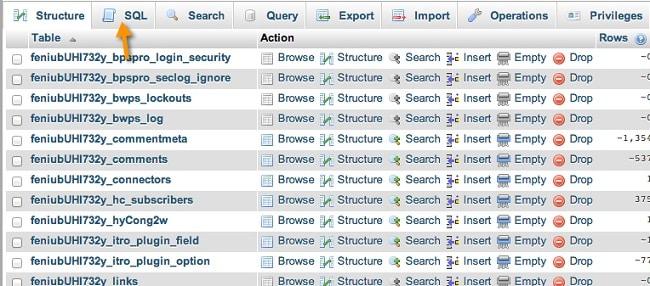 Dọn dẹp database với lệnh SQL