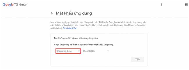 Hướng cấu hình SMTP Gmail 2