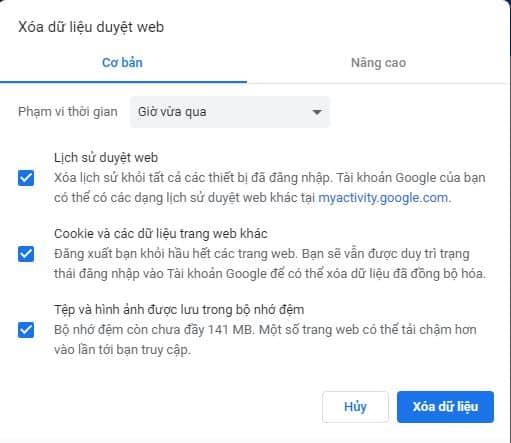 Khắc phục lỗi không vào được một số trang web bằng Google Chrome