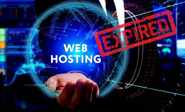 Hướng dẫn kiểm tra hosting hết hạn