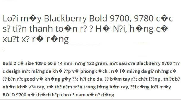 Wordpress lỗi font tiếng việt