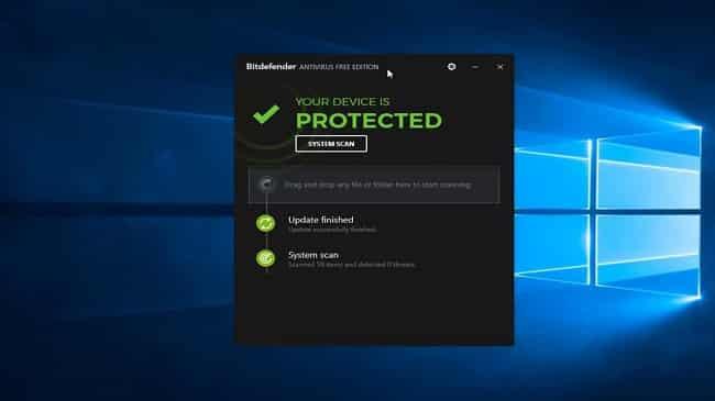 Phần mềm diệt virus cho máy chủ Bitdefender Edition