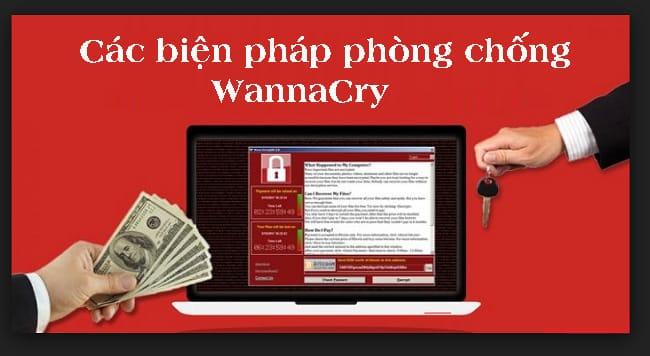 Các biện pháp phòng chống WannaCry