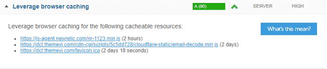 Sửa lỗi Leverage browser caching bằng cách cấu hình Hosting 3