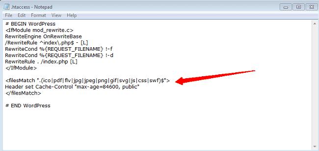 Sửa lỗi Leverage browser caching bằng cách cấu hình Hosting