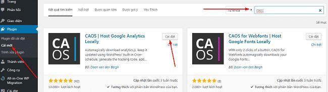 Sửa lỗi Leverage browser caching bằng cách tải và lưu tập tin JS Google Analytics 1