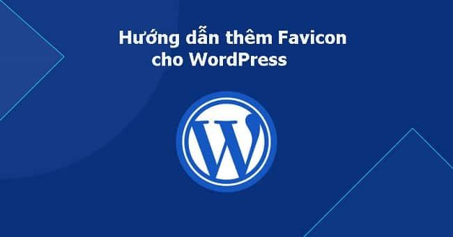 Thêm Favicon cho WordPress