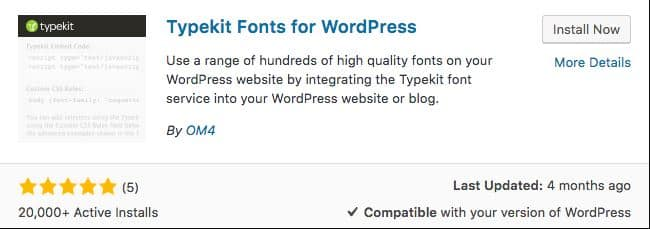 thêm font chữ cho wordpress