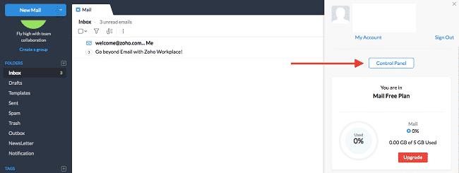 Thiết lập bản ghi MX để hoàn thành việc tạo Email tên miền riêng miễn phí với Zoho Mail 1