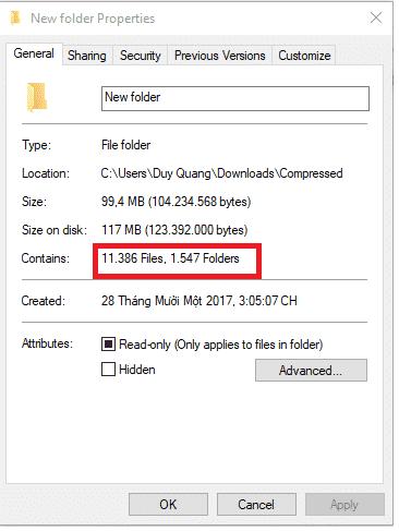 Trên máy tính hệ điều hành windows 1
