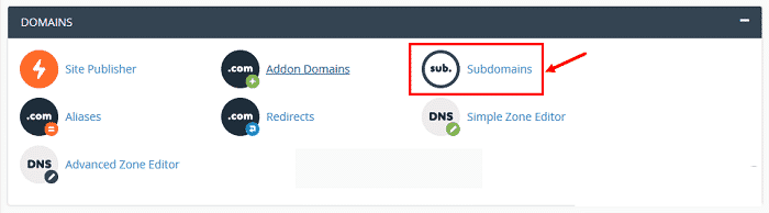 Ưu điểm của việc tạo Subdomain trong host cPanel