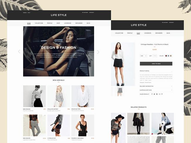 Các bước thiết kế website thời trang