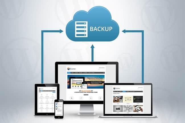 Những cách backup dữ liệu website cơ bản