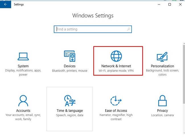 Cách cài đặt VPN cho windows 10 1