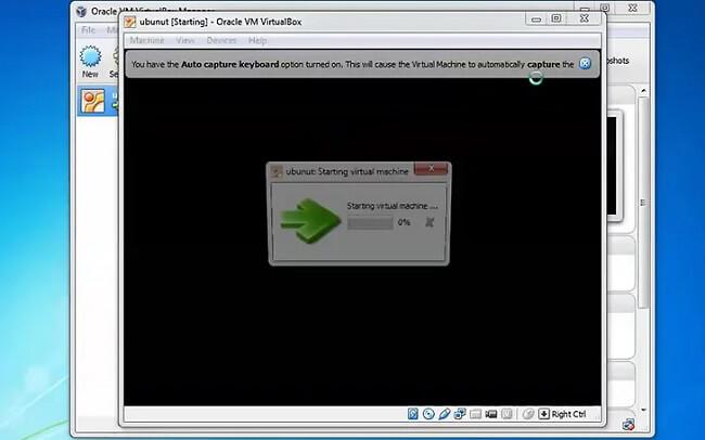 ướng dẫn cài Ubuntu trên máy ảo Virtualbox 4