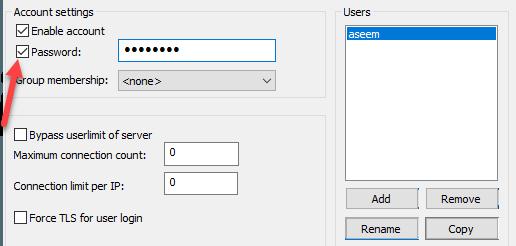 Cấu hình máy chủ FileZilla FTP 1