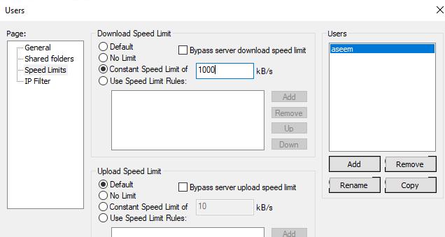 Cấu hình máy chủ FileZilla FTP 4