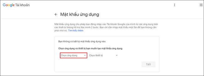 Cấu hình SMTP Gmail 2