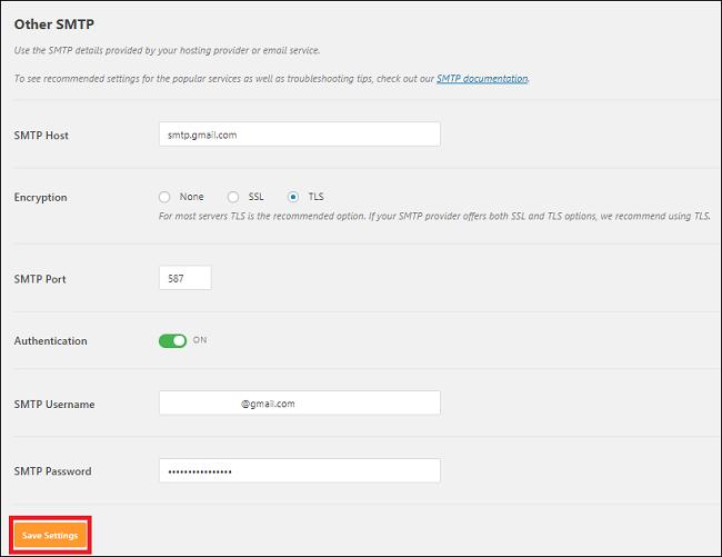 Cấu hình SMTP Gmail 7