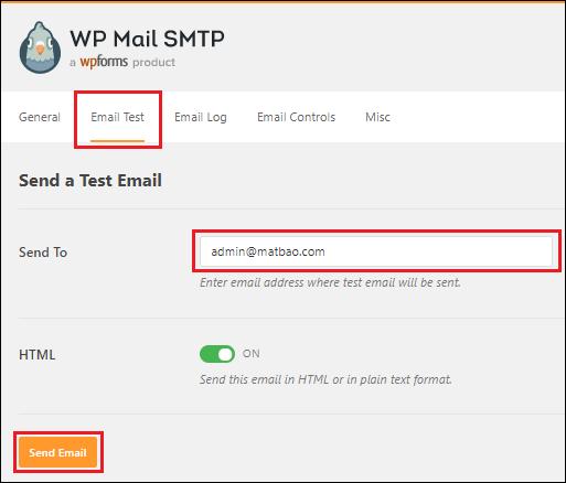 Cấu hình SMTP Gmail 8