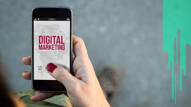 Digital Marketing bao gồm các hoạt động nhằm quảng bá cho dịch vụ, sản phẩm, thương hiệu