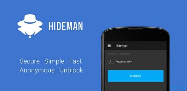 Free VPN với  HideME VPN
