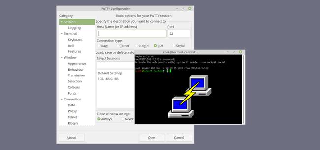 Hướng dẫn sử dụng PuPPY để truy cập và cài đặt server