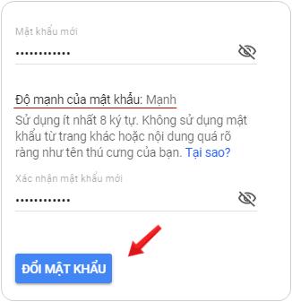 Hướng dẫn thay đổi mật khẩu email trên máy tính 6