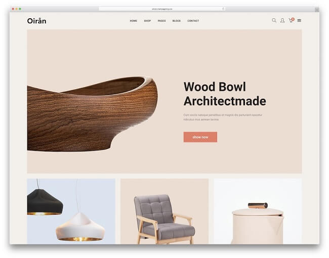Một số lưu ý khi thiết kế website nội thất