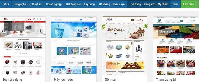 Nên chọn công ty thiết kế website nội thất nào tốt?