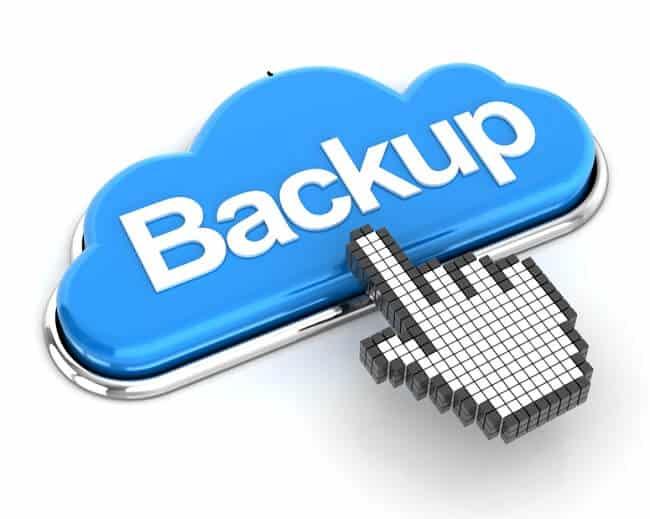 Những trường hợp cần backup dữ liệu.