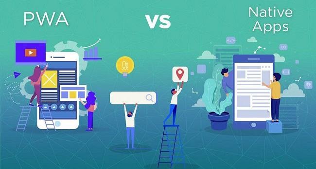 pwa là kết hợp tốt nhất của ứng dụng và web.