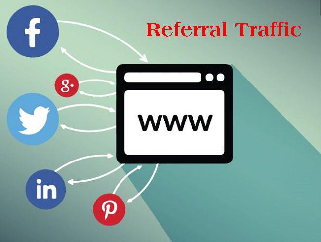 Referral Traffic là lưu lượng truy cập từ tất cả nguồn trỏ về website được Google lưu trữ.