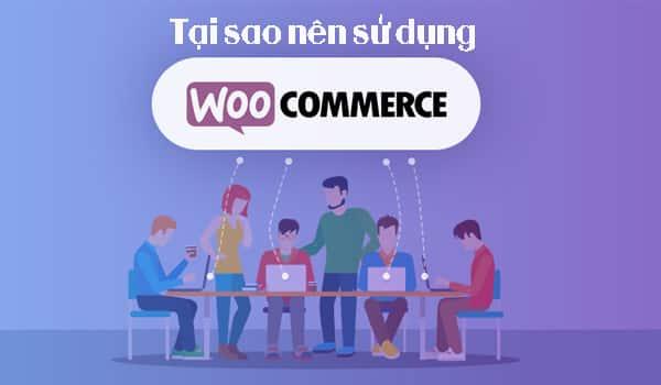 Tại sao nên sử dụng WooCommerce?